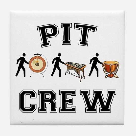 Pit Crew Tile Coaster