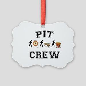 Pit Crew Picture Ornament