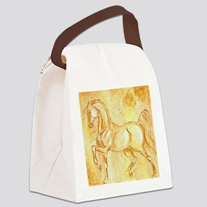 Ancient Horse Canvas Lunch Bag