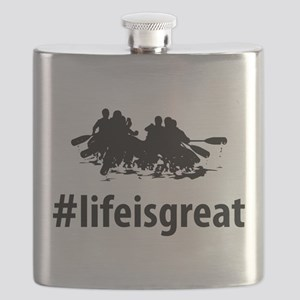 Whitewater Rafting Flask