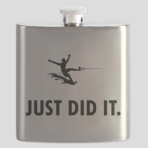 Waterskiing Flask