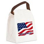 Born in the USA Canvas Lunch Bag