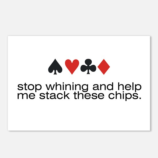 Stop Whining and help me stack these chips