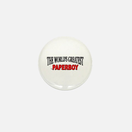 """The World's Greatest Paperboy"" Mini Button"