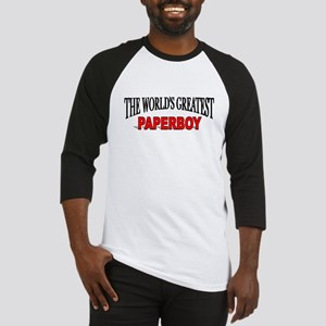 """""""The World's Greatest Paperboy"""" Baseball Jersey"""