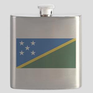 Solomon Islands Flag Flask