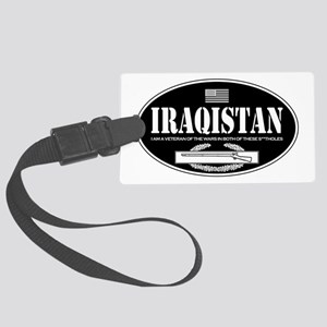 Iraqistan CIB Large Luggage Tag