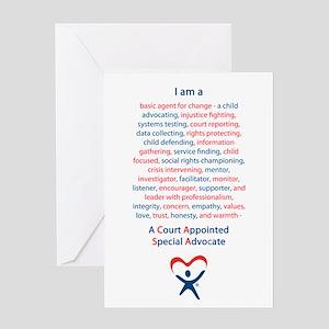 I am a CASA Greeting Card