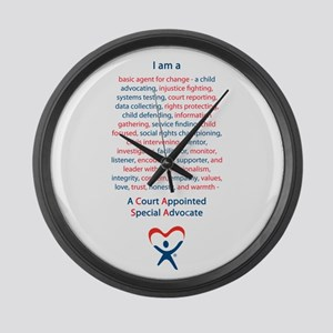 I am a CASA Large Wall Clock