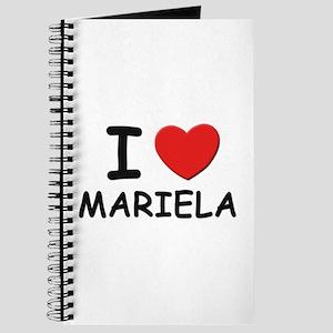 I love Mariela Journal