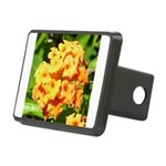 Lantana Orange Explosion Cluster Hitch Cover