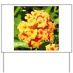 Lantana Orange Explosion Cluster Yard Sign