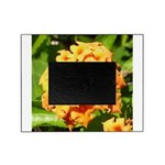 Lantana Orange Explosion Cluster Picture Frame