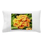 Lantana Orange Explosion Cluster Pillow Case