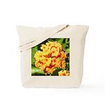Lantana Orange Explosion Cluster Tote Bag