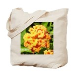 Lantana Orange Explosion Cluster Tote Bag