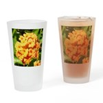Lantana Orange Explosion Cluster Drinking Glass