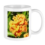 Lantana Orange Explosion Cluster Mug
