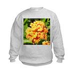 Lantana Orange Explosion Cluster Sweatshirt