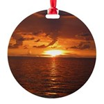 Sunset Ft Desoto Full Ornament