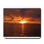 Sunset Ft Desoto Full Mousepad