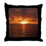 Sunset Ft Desoto Full Throw Pillow