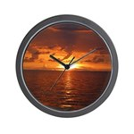 Sunset Ft Desoto Full Wall Clock