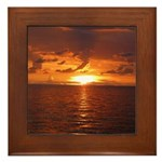 Sunset Ft Desoto Full Framed Tile