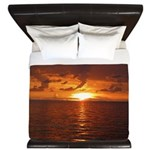 Sunset Ft Desoto Full King Duvet