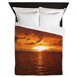Sunset Ft Desoto Full Queen Duvet