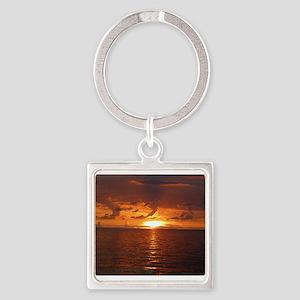 Sunset Ft Desoto Full Keychains