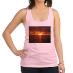 Sunset Ft Desoto Full Racerback Tank Top