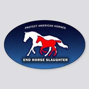 Anti-Horse Slaughter Bumper Sticker