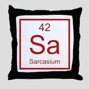 Sa Sarcasium Element Throw Pillow