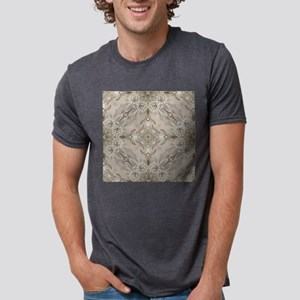 glamorous girly Rhinestone Mens Tri-blend T-Shirt