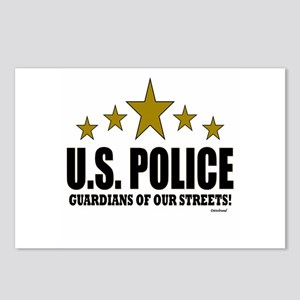 U.S. Police Guardians Of Postcards (Package of 8)