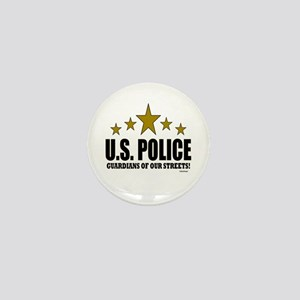 U.S. Police Guardians Of Our Streets Mini Button