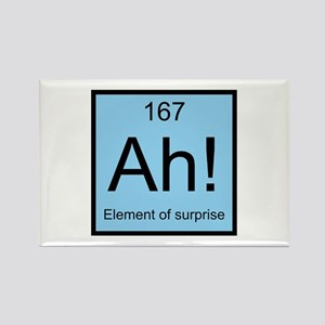 Ah! Element of Surprise Rectangle Magnet