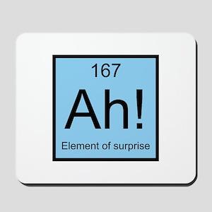 Ah! Element of Surprise Mousepad