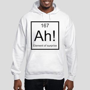 Ah! Element of Surprise Hooded Sweatshirt