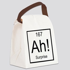 Ah! Surprise Element Canvas Lunch Bag