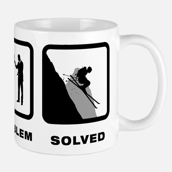 Skiing Mug