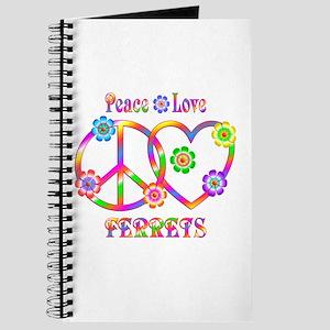 Peace Love Ferrets Journal