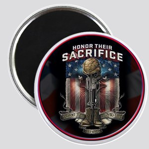 01026 HONOR THEIR SACRIFICE Magnet