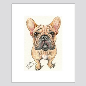 Red Fawn Frenchie Small Poster