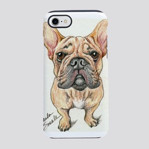 Red Fawn Frenchie iPhone 7 Tough Case