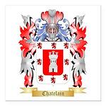 Chatelain Square Car Magnet 3