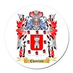 Chatelain Round Car Magnet