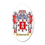 Chatelain 35x21 Oval Wall Decal