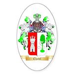 Chatel Sticker (Oval 50 pk)